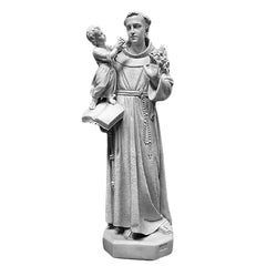 Saint Anthony With Child 53 Large Religious Sculpture