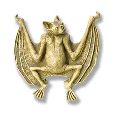 XoticBrands Bat Wall Plaque - Gargoyles   Oddities