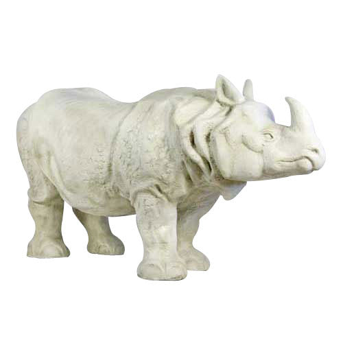 Rhino Lifesize 46 Garden Animal Statue