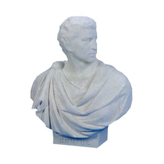 XoticBrands Brutus Robed Bust 33 - Busts   Greek & Roman