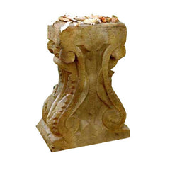 Stone Table Base 29 - Pedestal Sculpture