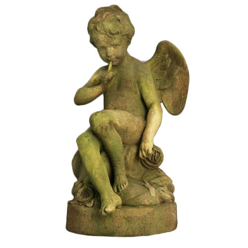 Mischievous Cupid Large 37 Garden Angel Statue