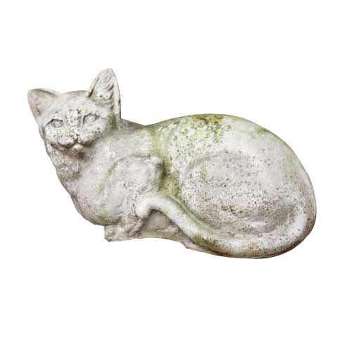 House Cat 8 (Long Down Tail) Garden Animal Statue