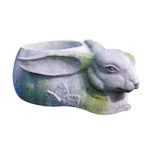 Rabbit Planter Garden Animal Statue