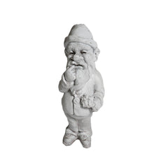 Gnome Thinker 12 Gargoyle Sculpture
