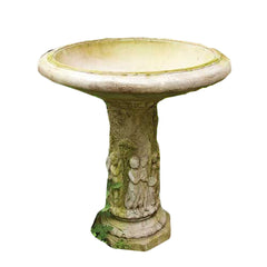 Musical Cherubs Birdbath 28 Garden Display