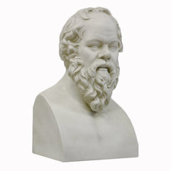 Socrates 21 (Chest Up) -  Greek & Roman Busts