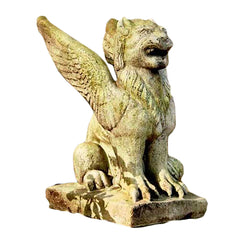 Big Mouth Griffin 15 Gargoyle Sculpture