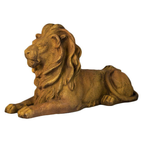 Lion Sitting W Pride 21 Garden Animal Statue