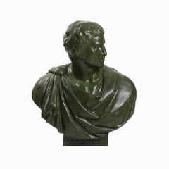 Brutus Robed Bust 33 -  Greek & Roman Busts