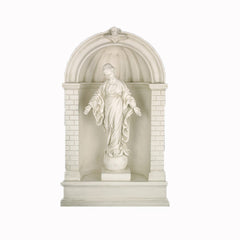 "Med.Shrine For 24"" -26""h Statues - Architectural   Niches"