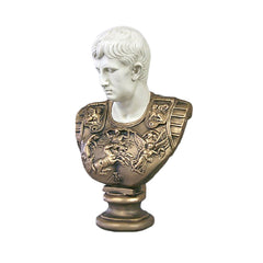Caesar (Two Tone) Armor 24 -  Greek & Roman Busts