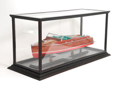 XoticBrands Decor Display Case for Speed boat Model Display