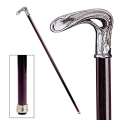 ART NOUVEAU HALF CROOK WALKING STICK
