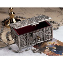 COTSWOLD CATHEDRAL PEWTER JEWEL BOX