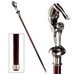 FEMALE DECO ACROBAT WALKING STICK