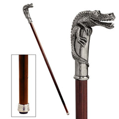ALLIGATOR WALKING STICK