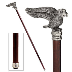 FREEDOMS WINGS EAGLE WALKING STICK
