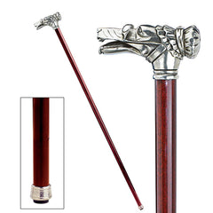 RED RIDING HOOD WOLF WALKING STICK