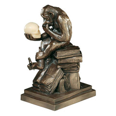 "8"" Rodin's Thinker Desktop Ape Statue Sculpture Figurine [Kitchen]"