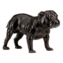 Boxer English Bulldog Sculpture Statue Figurine