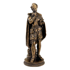 Classic Museum Replica Shakespeare Sculpture Figurine