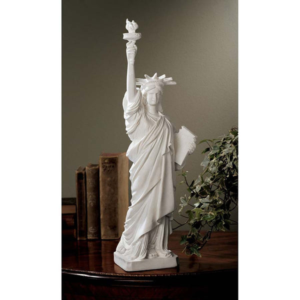 "17.5"" Statue of Liberty Desktop Table Sculpture Statue Figurine"
