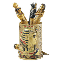 "4.5"" Egyptian Pharaoh Pen Vessel"