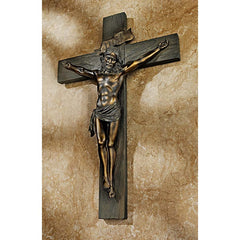 "20"" INRI Jesus Christ Christian Catholic Wall Sculpture Statue"