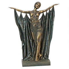 Queen Semiramis Dancer By Chiparus - Art Deco Statue