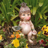 "12.5"" Mystical Scandinavian Troll Sculpture Statue Figurine"