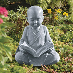 Asian Baby Buddha Meditation Statue Sculpture
