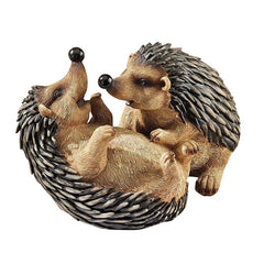 Classic Hedgehogs Animal Home Garden Statue Sculpture Figurine