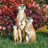"15"" African Wildlife Cute Meerkat Sculpture Statue Figurine/Gift Item"