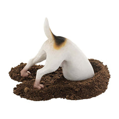 Head in a Hole Dog Home Garden Yard Statue Sculpture Figurine