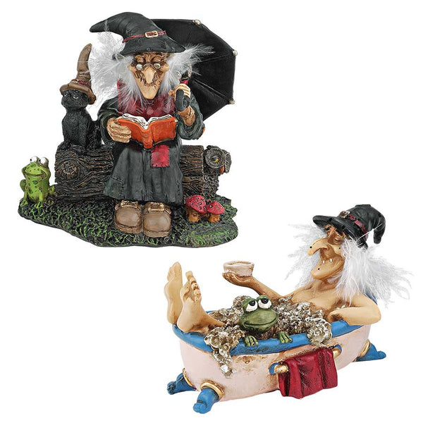 Magical Witches Cauldrons Statue Sculpture Collectible Collection