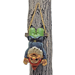 Decorative Alfie the Acrobat: Swinging Gnome Statue