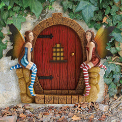 THE ENCHANTED PORTAL FAIRY DOOR PLAQUE