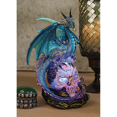 Gothic Illuminated Statue Sculpture