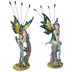 Pixie Fairy Statue - Set of 2
