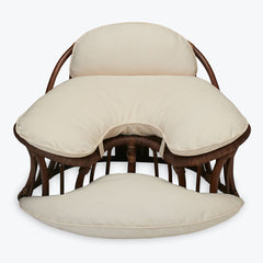 Rattan Zen Bali Kneeling Meditation Chair