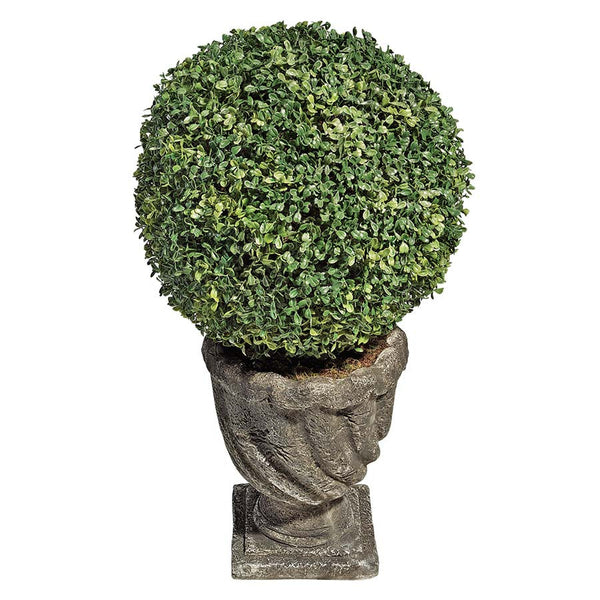 15IN BOXWOOD BALL TOPIARY
