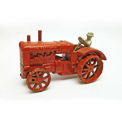 Allis Chalmers Replica Cast Iron Collectible Farm Toy Vintage Tractor