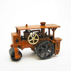 Steam Roller Replica Cast Iron Collectible Farm Toy Vintage Tractor