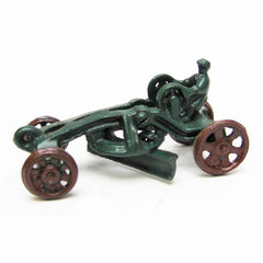 Road Grader Replica Cast Iron Collectible Farm Toy Vintage Tractor