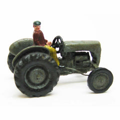 Earth Mover Replica Cast Iron Collectible Farm Toy Vintage Tractor