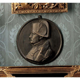 Classic French Napoleon Bonaparte Foundry Iron Wall Sculpture/French Military...