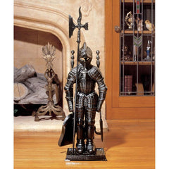 THE BLACK KNIGHT FIREPLACE TOOL SET