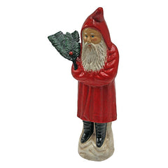19th century German St. Nicholas Antique Replica Die Cast Iron Still Action Coin Bank