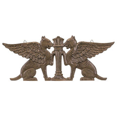 Griffin Architectural Door Pediment (Xoticbrands)